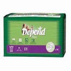 Depend® flex super plus medium 14*1762