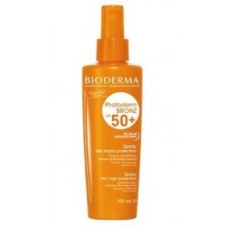 Bioderma Photoderm bronz ip spray solaire corps spf50+ 200ml