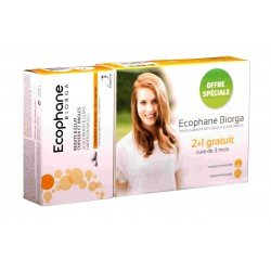 Ecophane biorga comp 3x60 2+1 gratuit
