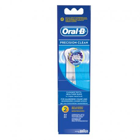 Oral b precision clean 3 brossettes de recharge eb20 3 - Brossettes oral b precision clean ...