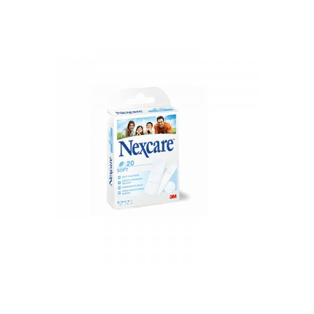 Nexcare soft assortiment 20 strips