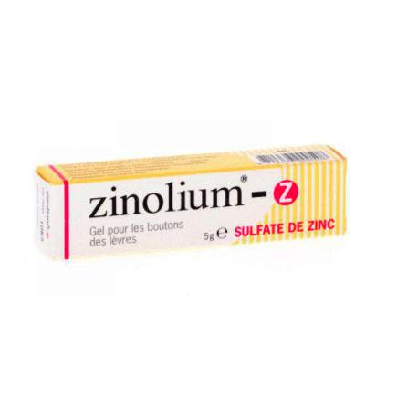 Zinolium gel 5g