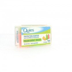 Quies protection auditive mousse confort (3 paires)