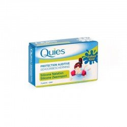 Quies protection auditive silicones natation (3 paires)