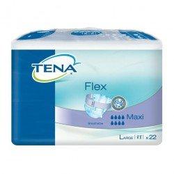 Tena flex maxi large 22 pièces