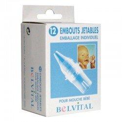Belvital Embout nasal jetable 12 pièces