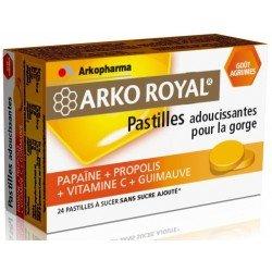 Arkoroyal propolis pastilles Goût Agrumes 24
