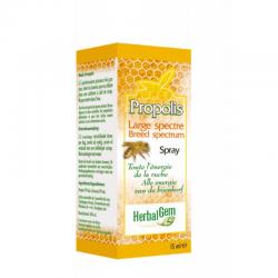 Herbalgem Propollis junior large spectre bio gouttes 15ml