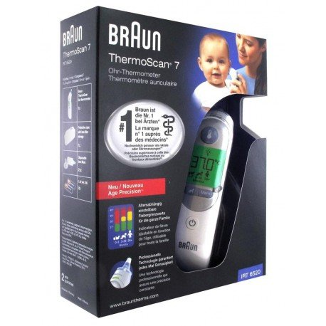 Braun thermometre thermoscan 7 irt 6520