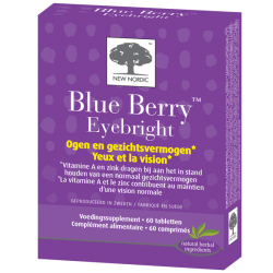 New Nordic Blue berry Eyebright 60 comprimés