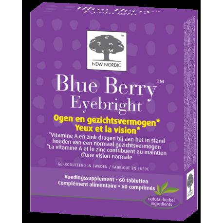 New Nordic Blue berry Eyebright 60 comprimés