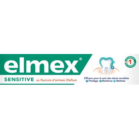 Elmex dentifrice sensitive 75ml