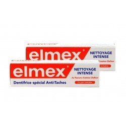 Duopack Elmex dentifrice intensive cleaning anti-taches 50ml