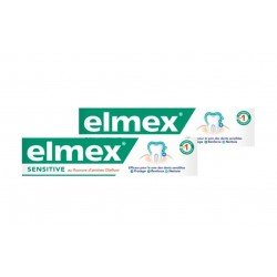 Duopack Elmex dentifrice sensitive 75ml