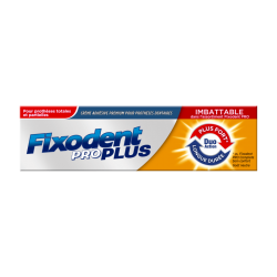 Fixodent Pro plus duo action pate adhesive 40gr