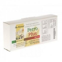 Ferro plus - the herborist ampoules 20x10ml 0718