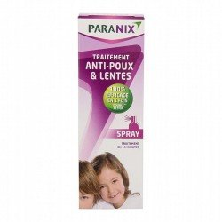 Paranix spray anti-poux sans peigne 100ml